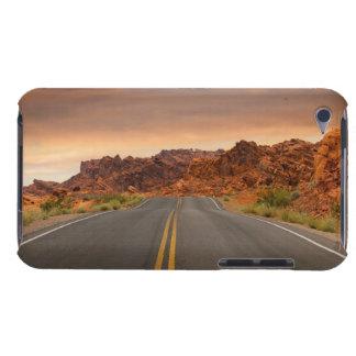 Funda iPod Puesta del sol del viaje por carretera