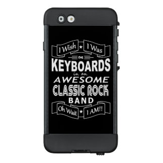 Funda NÜÜD De LifeProof Para iPhone 6 Banda de rock clásica impresionante de los