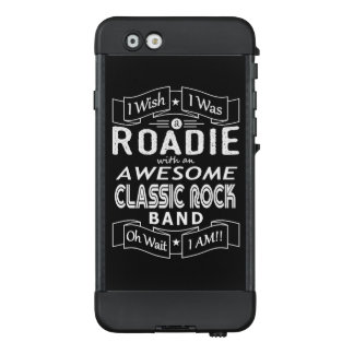 Funda NÜÜD De LifeProof Para iPhone 6 Banda de rock clásica impresionante de ROADIE