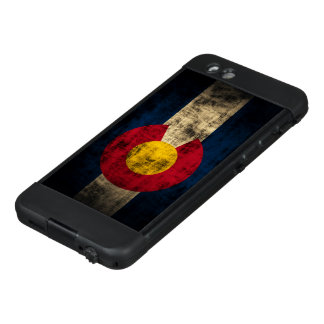 Funda NÜÜD De LifeProof Para iPhone 6 Bandera apenada del estado de Colorado