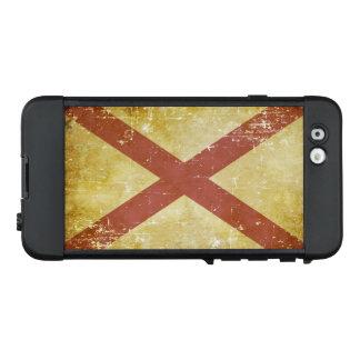 Funda NÜÜD De LifeProof Para iPhone 6 Bandera patriótica gastada del estado de Alabama