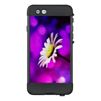 Funda NÜÜD De LifeProof Para iPhone 6 Bokeh rosado y púrpura de la margarita -