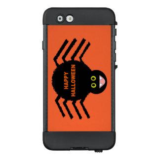 Funda NÜÜD De LifeProof Para iPhone 6 Caja negra del teléfono de la araña de Halloween