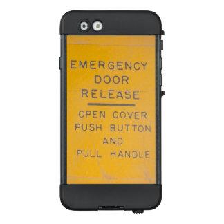 Funda NÜÜD De LifeProof Para iPhone 6 Diseño del lanzamiento de la salida de emergencia