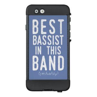 Funda NÜÜD De LifeProof Para iPhone 6 El mejor bajista (probablemente) (blanco)