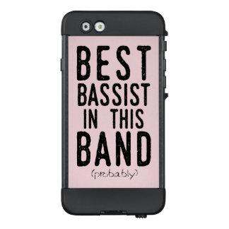 Funda NÜÜD De LifeProof Para iPhone 6 El mejor bajista (probablemente) (negro)