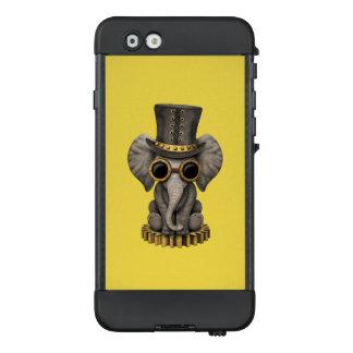 Funda NÜÜD De LifeProof Para iPhone 6 Elefante lindo Cub del bebé de Steampunk