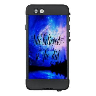 Funda NÜÜD De LifeProof Para iPhone 6 Ella creyó en noches estrelladas