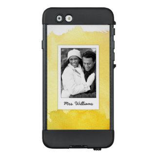 Funda NÜÜD De LifeProof Para iPhone 6 La pintura amarilla el | de la acuarela añade la