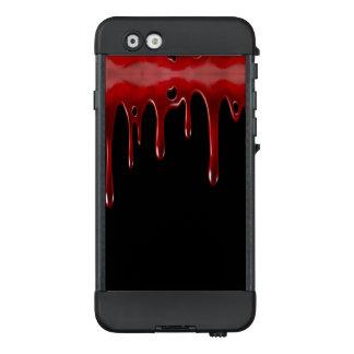 Funda NÜÜD De LifeProof Para iPhone 6 La sangre de Falln gotea negro