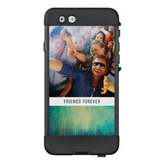 Funda NÜÜD De LifeProof Para iPhone 6 La textura oscura el | del arte del papel del