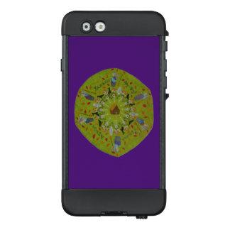 Funda NÜÜD De LifeProof Para iPhone 6 Mandala de Yaga del bizcocho borracho