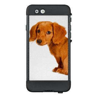Funda NÜÜD De LifeProof Para iPhone 6 Perro de perrito lindo del Dachshund