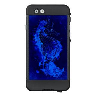 Funda NÜÜD De LifeProof Para iPhone 6 Pintura azul del Seahorse