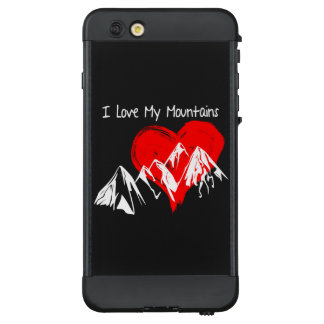 Funda NÜÜD De LifeProof Para iPhone 6 Plus ¡Amo mis montañas!