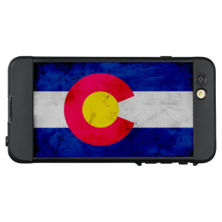 Funda NÜÜD De LifeProof Para iPhone 6 Plus Bandera patriótica del estado de Colorado del