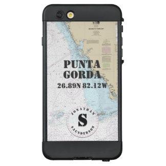 Funda NÜÜD De LifeProof Para iPhone 6 Plus Ciudad o barco náutica la Florida conocida del