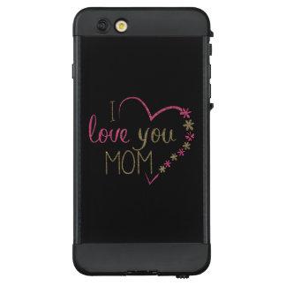 Funda NÜÜD De LifeProof Para iPhone 6 Plus Corazón del día de madres de la mamá del amor