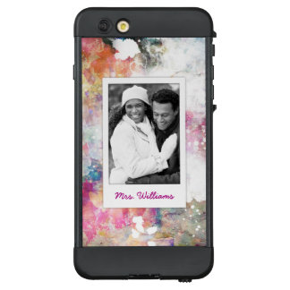 Funda NÜÜD De LifeProof Para iPhone 6 Plus La textura abstracta el | de la acuarela del