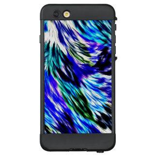 Funda NÜÜD De LifeProof Para iPhone 6 Plus Modelo púrpura blanco abstracto hermoso del verde