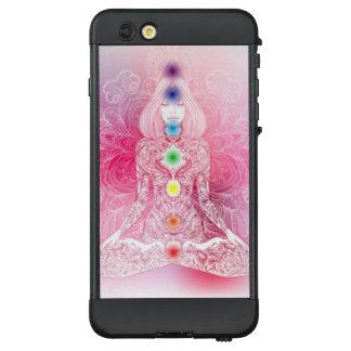 Funda NÜÜD De LifeProof Para iPhone 6 Plus Señora rosada de siete Chakras