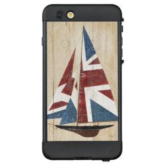 Funda NÜÜD De LifeProof Para iPhone 6 Plus Velero británico de la bandera