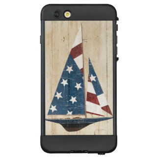 Funda NÜÜD De LifeProof Para iPhone 6 Plus Velero con la bandera americana