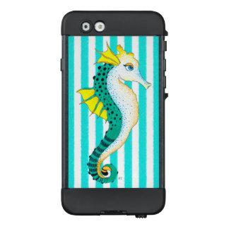 Funda NÜÜD De LifeProof Para iPhone 6 rayas del trullo del seahorse