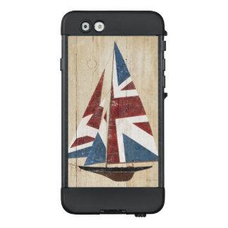 Funda NÜÜD De LifeProof Para iPhone 6 Velero británico de la bandera