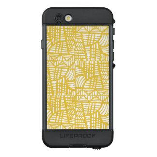 Funda NÜÜD De LifeProof Para iPhone 6s Amarillo del mosaico