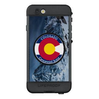 Funda NÜÜD De LifeProof Para iPhone 6s Bandera de la circular de Colorado