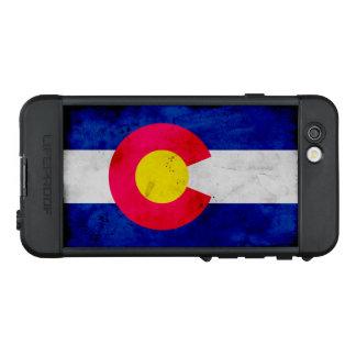 Funda NÜÜD De LifeProof Para iPhone 6s Bandera patriótica del estado de Colorado del