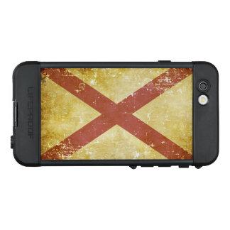 Funda NÜÜD De LifeProof Para iPhone 6s Bandera patriótica gastada del estado de Alabama