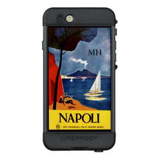 Funda NÜÜD De LifeProof Para iPhone 6s Casos impermeables del monograma de encargo de
