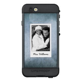 Funda NÜÜD De LifeProof Para iPhone 6s El papel azul y negro viejo el | de la acuarela