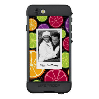 Funda NÜÜD De LifeProof Para iPhone 6s La fruta cítrica coloreada multi el | añade su