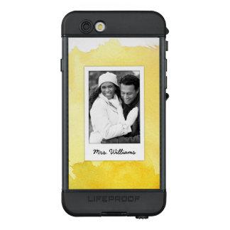 Funda NÜÜD De LifeProof Para iPhone 6s La pintura amarilla el | de la acuarela añade la