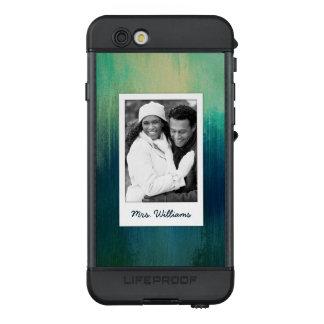 Funda NÜÜD De LifeProof Para iPhone 6s La textura oscura el | del arte del papel del