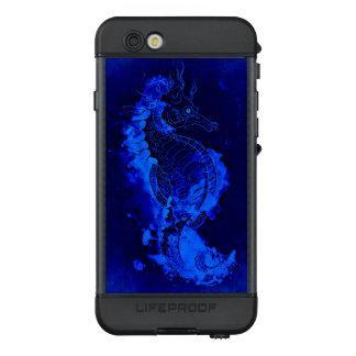 Funda NÜÜD De LifeProof Para iPhone 6s Pintura azul del Seahorse