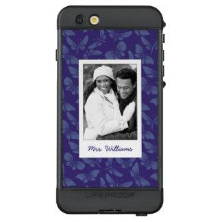 Funda NÜÜD De LifeProof Para iPhone 6s Plus Añada sus mariposas de la púrpura de la foto el |