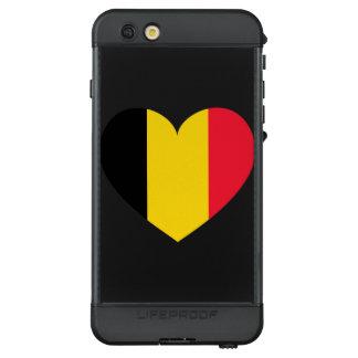 Funda NÜÜD De LifeProof Para iPhone 6s Plus Bandera de Bélgica simple