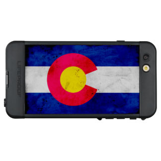 Funda NÜÜD De LifeProof Para iPhone 6s Plus Bandera patriótica del estado de Colorado del