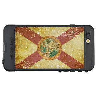 Funda NÜÜD De LifeProof Para iPhone 6s Plus Bandera patriótica gastada del estado de la