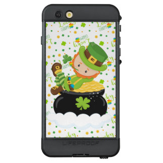 Funda NÜÜD De LifeProof Para iPhone 6s Plus El Leprechaun del arroz del St