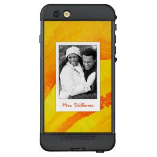Funda NÜÜD De LifeProof Para iPhone 6s Plus La acuarela amarilla en el papel el | añade la