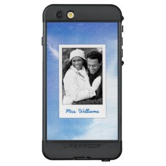Funda NÜÜD De LifeProof Para iPhone 6s Plus La acuarela pintada a mano azul el | añade la foto