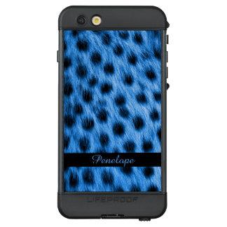 Funda NÜÜD De LifeProof Para iPhone 6s Plus La mirada manchada azul salvaje de la piel del