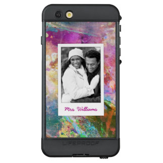 Funda NÜÜD De LifeProof Para iPhone 6s Plus La textura abstracta el | de la acuarela del