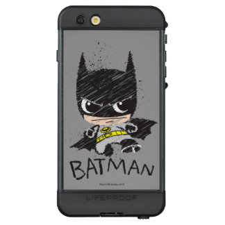 Funda NÜÜD De LifeProof Para iPhone 6s Plus Mini bosquejo clásico de Batman