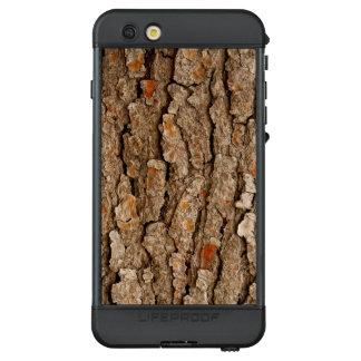 Funda NÜÜD De LifeProof Para iPhone 6s Plus Textura de la corteza del pino